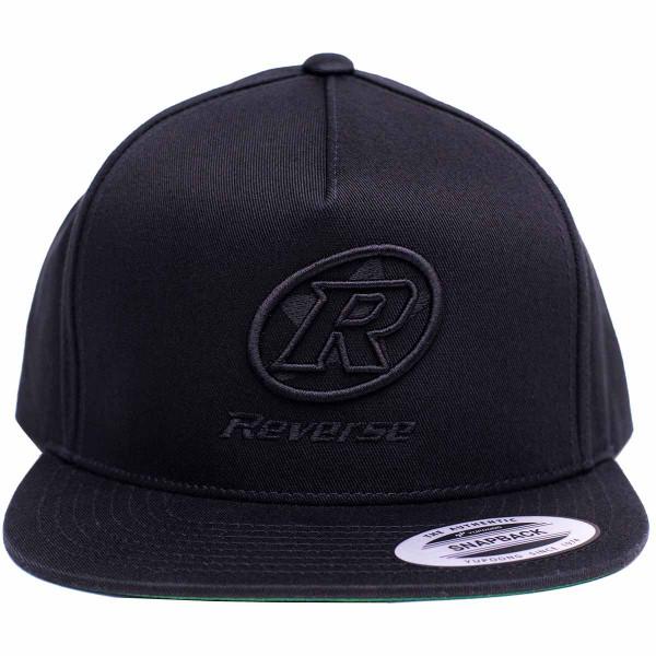 REVERSE Snapback Cap Logo (Stick)