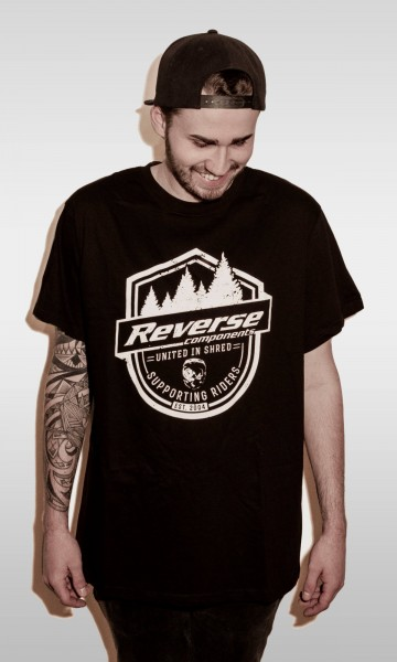 """REVERSE T-Shirt """"Supporting Riders"""""""