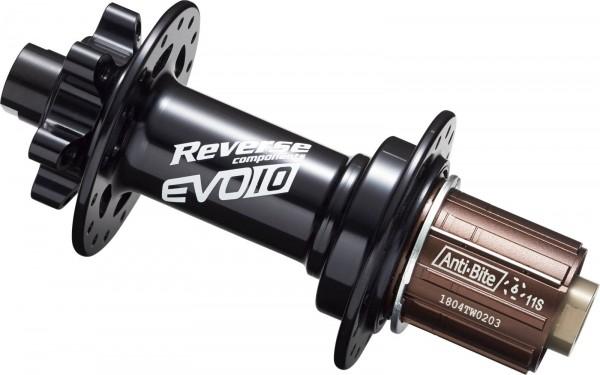 REVERSE Nabe EVO-10 Disc HR 32H 150/12mm (Schwarz)