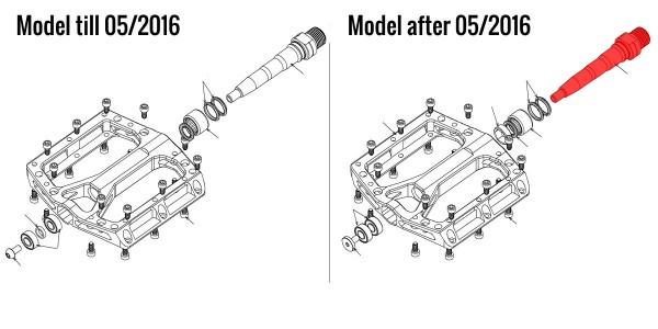 REVERSE Achse links nach 05/2016 (CrMo-Stahl)