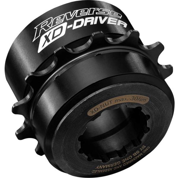 REVERSE XD Single Speed Kit 14T (Schwarz)